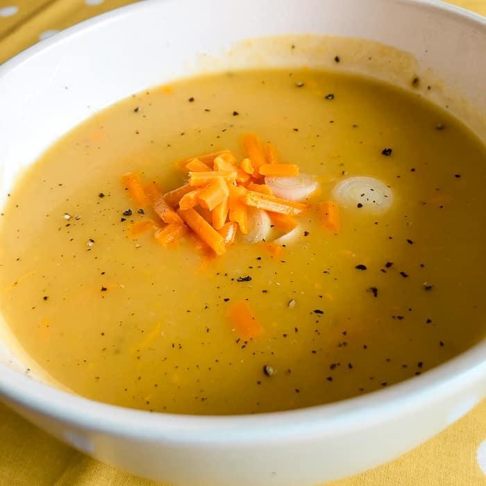 Easy Cheesy Potato Soup Recipe...