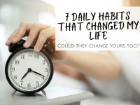7 Simple daily habits that changed my life...
