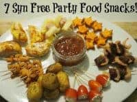 Seven Syn Free party food snacks {Slimming World}....
