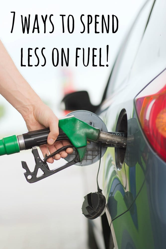 7 ways to spend less on fuel!