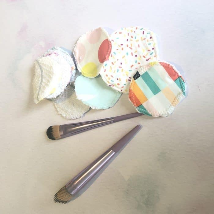DIY reusable make-up wipes