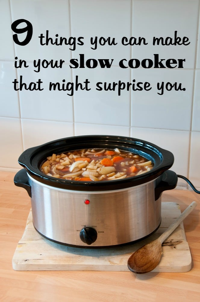 Slow cookers aren't just for winter. They can help you get dinner on the table efficiently -- and coolly -- even on hot summer days. Think of a slow cooker, and you may associate it with.