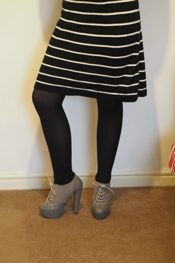 99p dress and £2 shoes