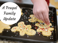 A Christmas Frugal Family Update....