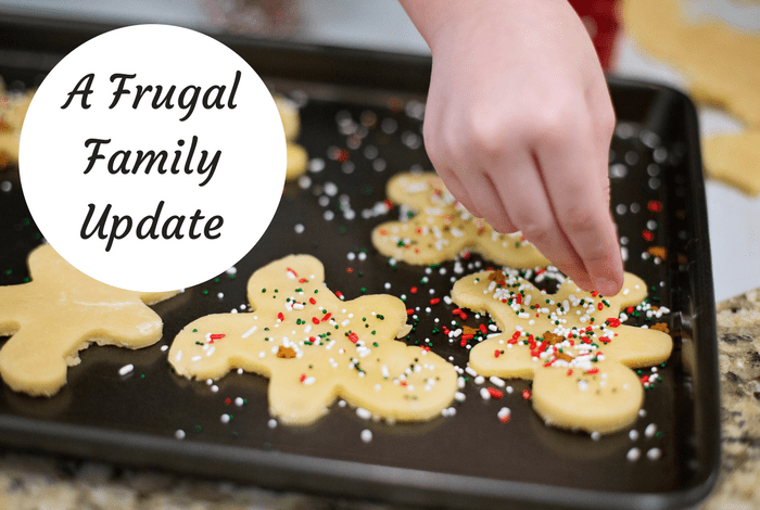 A Frugal Family Update