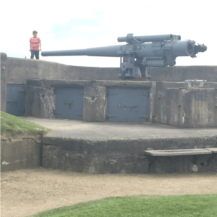 A day at Tynemouth Priory and Castle
