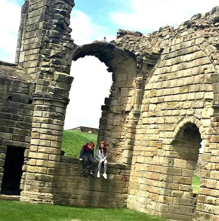 A day at Tynemouth Priory and Castle.....