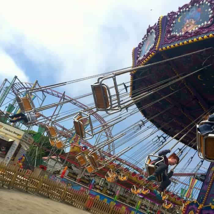 A fad day at OCean Beach Pleasure Park!