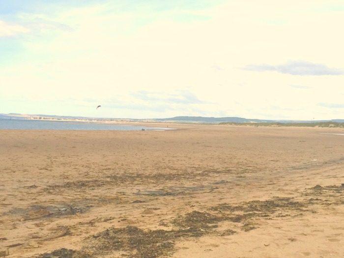 A lovely new beach
