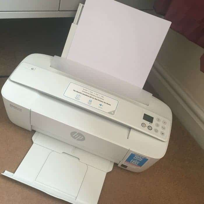 A review of the HP 3700 All-in-One Series printer