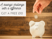 A savings challenge with a difference - get a FREE £10....