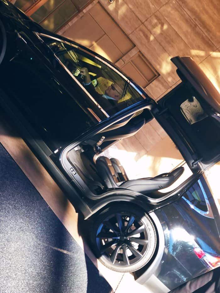 The Tesla Town car!