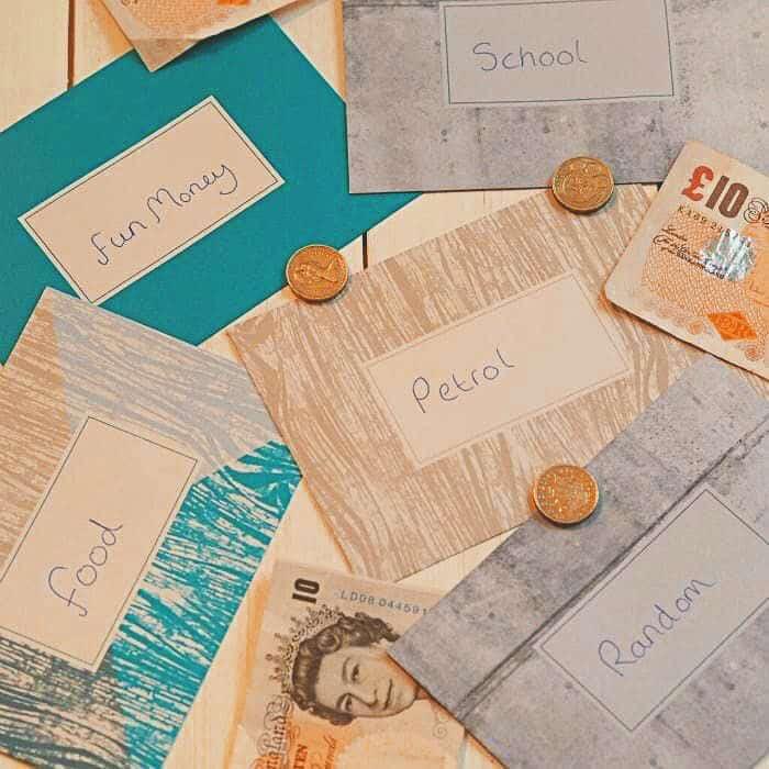 Cash envelopes!
