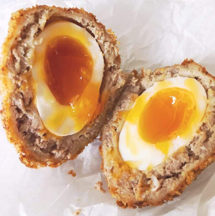 Farmers market scotch egg