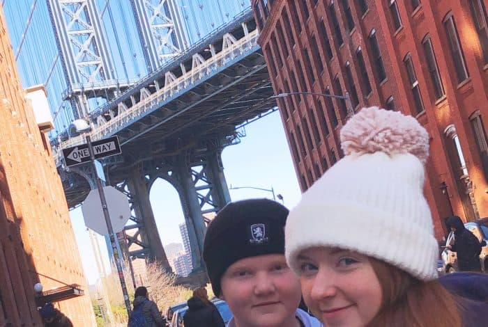 That view of Brooklyn Bridge from Dumbo