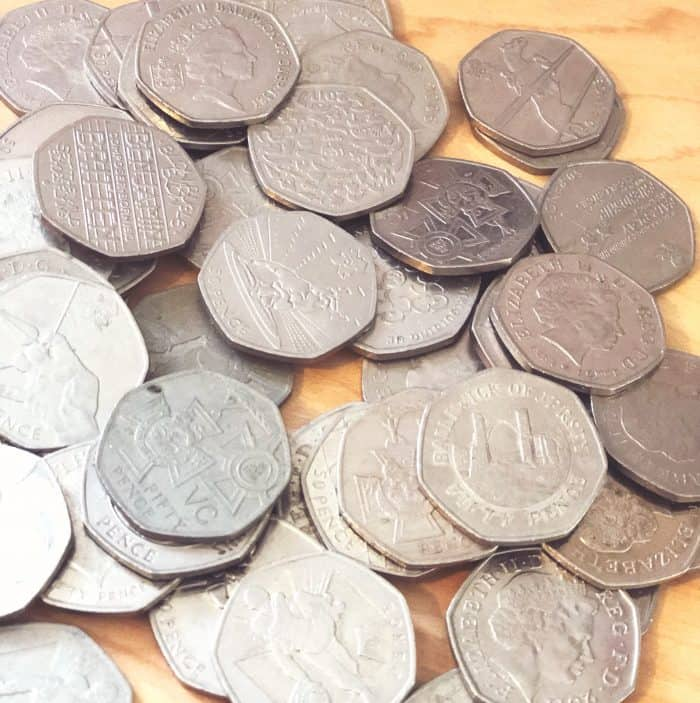 Where to cash in coins for free