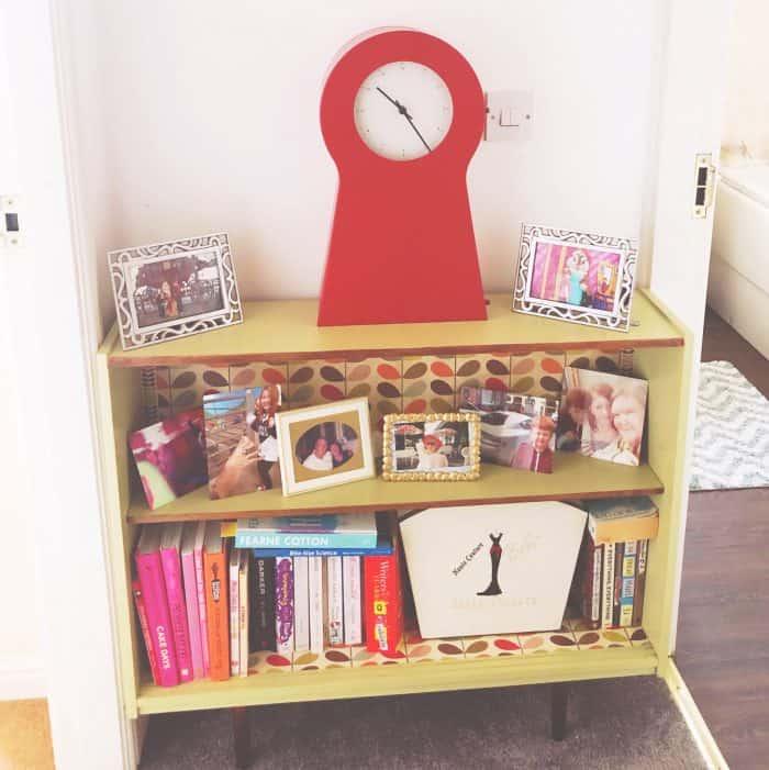 Ikea 'iconic' red clock key cupboard!
