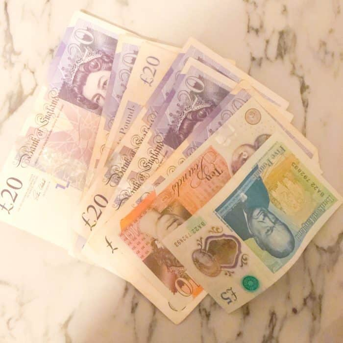 UK bank notes