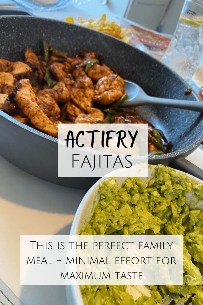 Actifry Fajitas