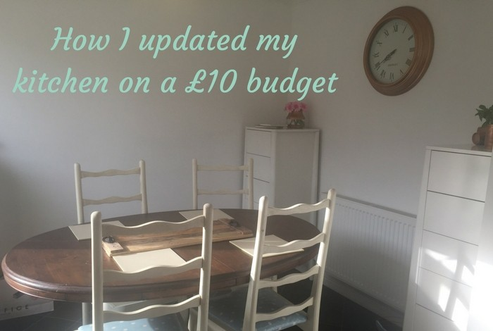 How I updated my kitchen on a £10 budget