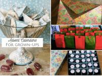 Homemade Advent Calendars for grown-ups....