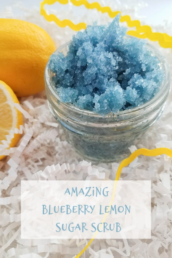 Amazing Blueberry Lemon Sugar Scrub