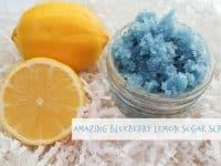 Amazing Blueberry Lemon Sugar Scrub....