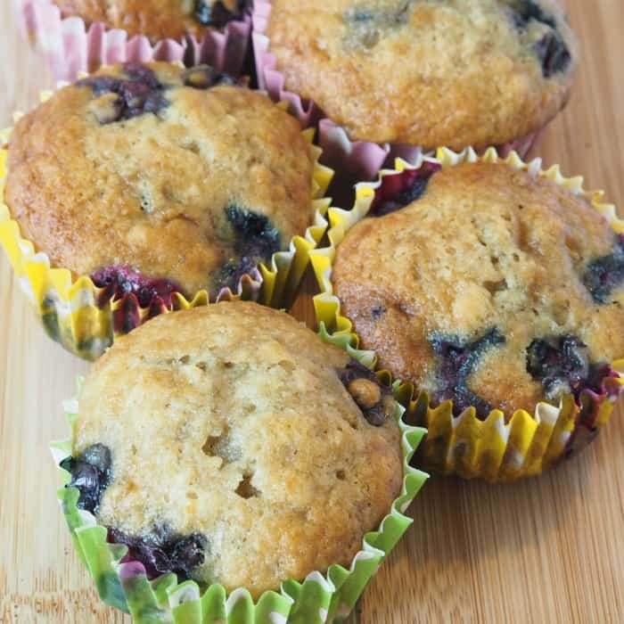 Amazing Blueberry and Banana Mufffins