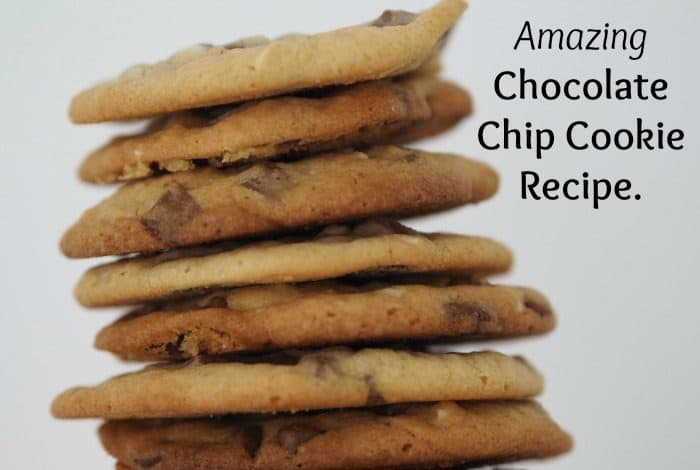 Amazing Chocolate Chip Cookie Recipe.