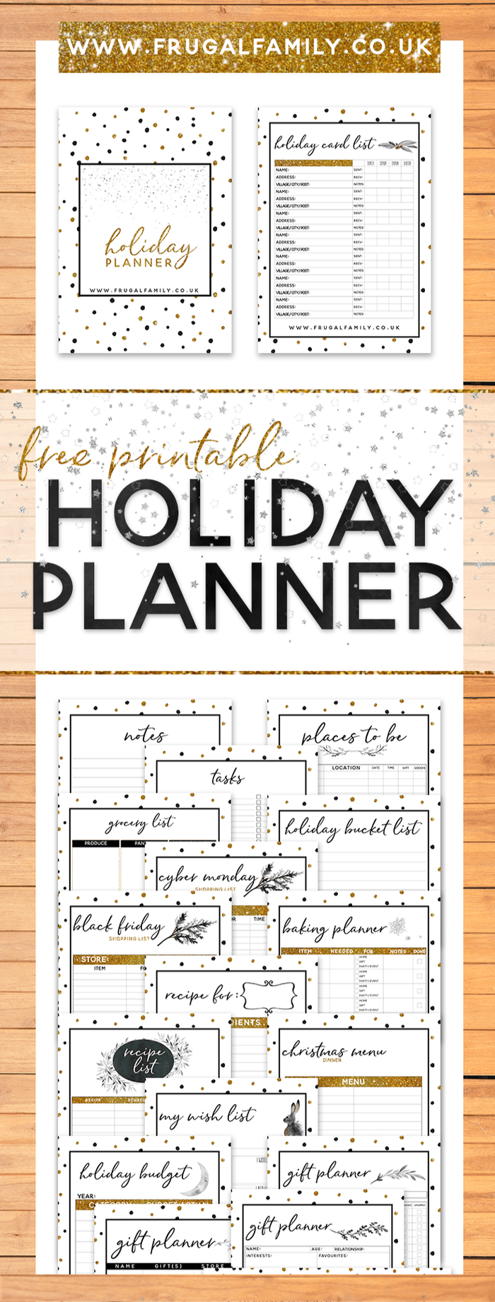 Amazing Christmas Planner - Free Printable!