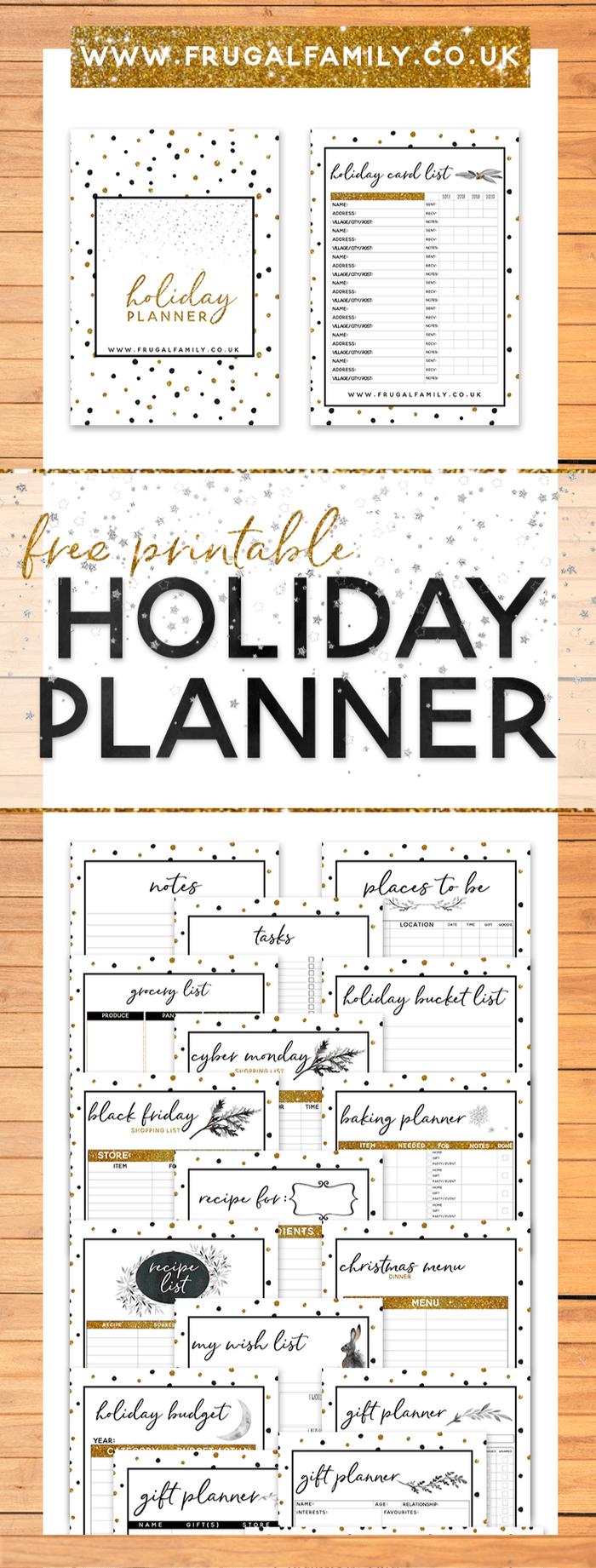 Amazing Christmas Planner - Free Printable!