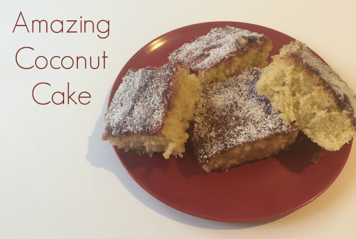 Amazing Coconut Cake....