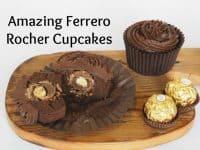 Amazing Ferrero Rocher Cupcakes....