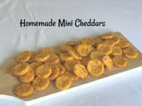 Super Tasty Homemade Mini Cheddars....