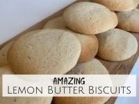 Lemon Butter Biscuits....