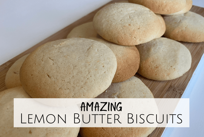 Amazing Lemon Butter Biscuits Recipe