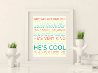 Amazing Frugal and Free Fathers Day Gift.... {Free Printable}