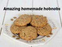 Amazing Homemade Hobnobs {Oat Cookies}....
