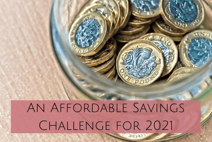 An Affordable Savings Challenge for 2021