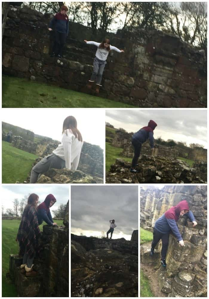 An afternoon at Byland Abbey