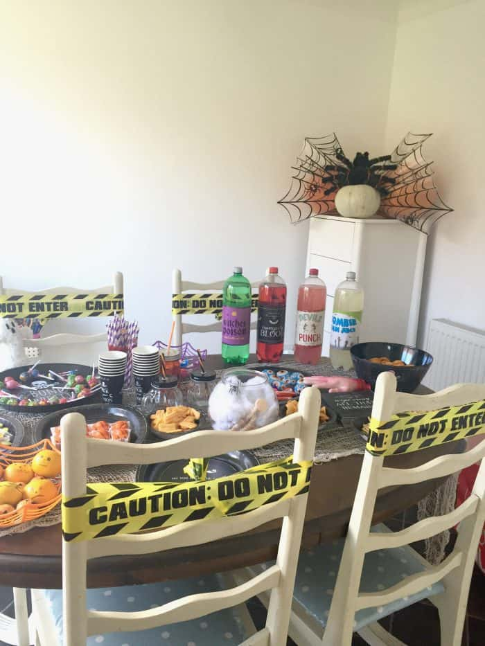 An easy way to hold a last minute Halloween Party....