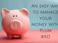 An easy way to manage your money with Plum...
