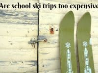 Are School Ski Trips too Expensive....