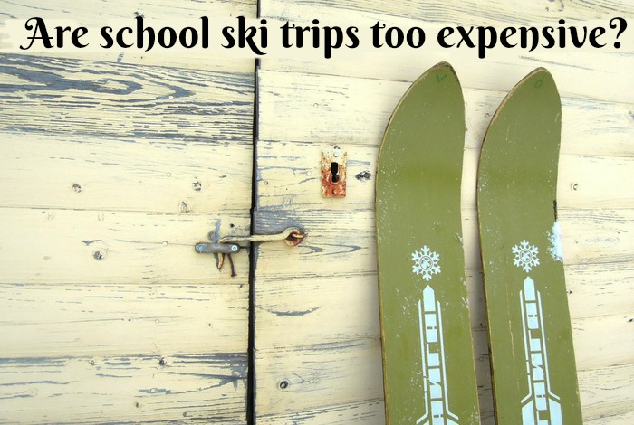 Are school ski trips too expensive-