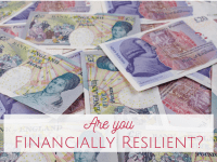 Are you financially resilient?  This is what I do to help me to prepare for a financial crisis....