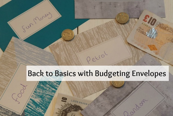 Back to Basics with Budgeting Envelopes....