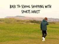 Back to school shopping with Sports Direct....
