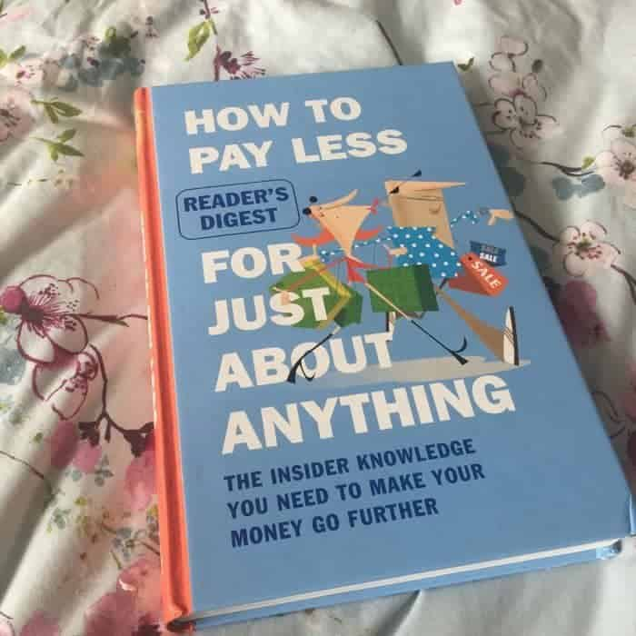 Bargain moneysaving book