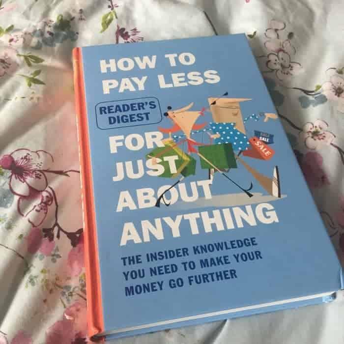 Bargain moneysaving book