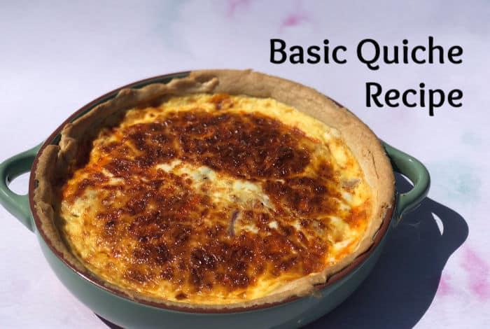 Basic Quiche Recipe